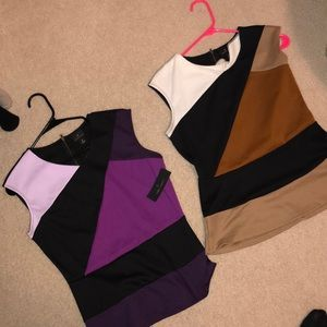 2 work/dress thick tank tops